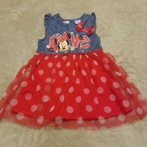 Adorable Minnie Mouse Toddler Dress